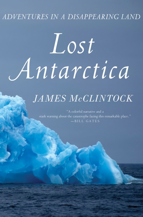 Lost Antarctica by James McClintock cover